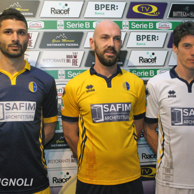 Presentazione Safim nuovo sponsor 2016 Modena Calcio